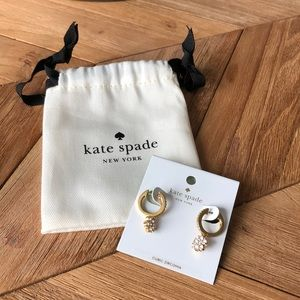 Kate Spade ♠️ Drop Flower Earrings